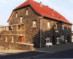 Basaltsteinhaus der Bäckerei